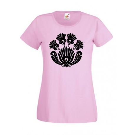 Rózsaszín-Fekete Tulipán