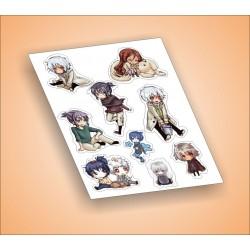 Anime matrica szett