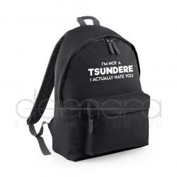 I am not a TSUNDERE