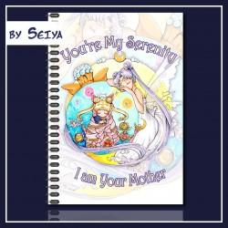 Moondala Queen Serenity füzet