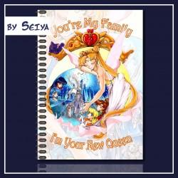 Moondala Neo Queen Serenity füzet