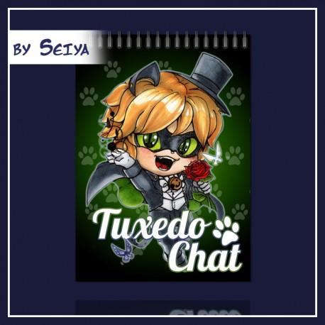Mira Tuxedo Chat notesz